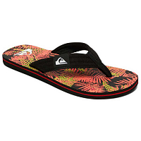 Quiksilver MOLOKAI LAYBACK M SNDL BLACK/RED/YELLOW