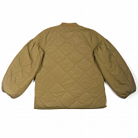 Perks And Mini MY Hands Become Quilted Jacket KHAKI