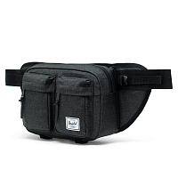 Herschel Eighteen Black Crosshatch