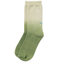 STUSSY DIP DYE EVERYDAY SOCKS GREEN