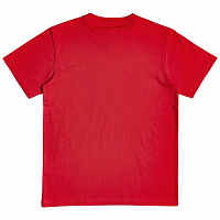 DC SKETCHY ZONE SS B TEES RACING RED