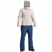 Airblaster W'S INSULATED FREEDOM SUIT NAVY BLUSH