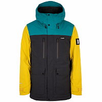 Planks Good Times Insulated Jacket MIDNIGHT TEAL