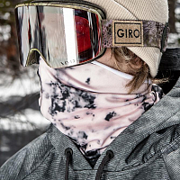 686 ROLLER FACE GAITER DUSTY PINK DAZED