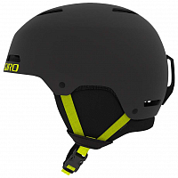 Giro LEDGE MATTE WARM BLACK/CITRON