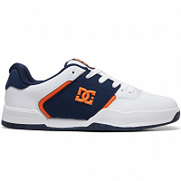 DC CENTRAL M SHOE WHITE/NAVY