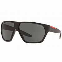 Prada Linea Rossa 0PS 08US RUBBER BLACK/POLAR GREY