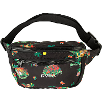 RVCA MEL G BUM BAG BLACK