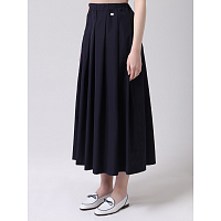 PAUL AND SHARK COTTON SKIRT BLUE