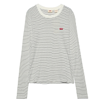 Levi's® LS BABY TEE AGNES STRIPE CLOUD DANCER S