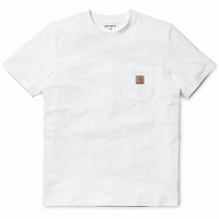 Carhartt WIP S/S POCKET T-SHIRT White