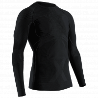 X-Bionic Energy Accumulator 4.0 Shirt Round Neck LG SL MEN BLACK/BLACK
