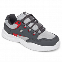 DC DECEL M SHOE WHITE/GREY/RED