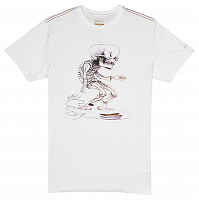 RVCA SKULL SURFER SS ANTIQUE WHITE