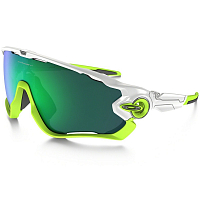 Oakley JAWBREAKER POLISHED WHITE/JADE IRIDIUM