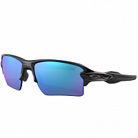 Oakley Flak 2.0 XL POLISHED BLACK/PRIZM SAPPHR IRIDIUM POLARIZED