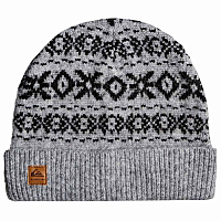 Quiksilver BARROW BEANIE  HDWR LIGHT GREY HEATHER