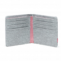 Herschel ROY RFID Light Grey Crosshatch