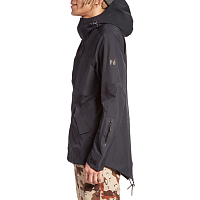 Holden M'SM-513-LAYERFISHTAILJACKET BLACK