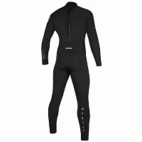 Mystic STAR FULLSUIT 3/2MM BZIP BLACK