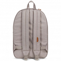 Herschel Heritage Light Khaki Crosshatch/Shadow/Brick Red/Tan Synthe