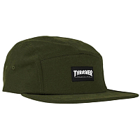 Thrasher 5-PANEL CAP Army Green