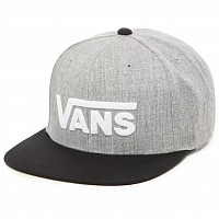 Vans DROP V II SNAPBACK HEATHER GREY-BLACK