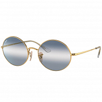 Ray Ban Oval ARISTA/CLEAR GRADIENT BLUE