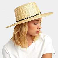 RVCA PENNY STRAW HAT SAND