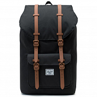 Herschel Little America Black/Saddle Brown