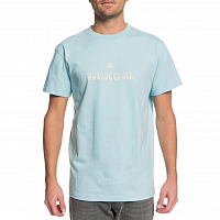 DC DOUBLE PLATINUM M TEES CRYSTAL BLUE