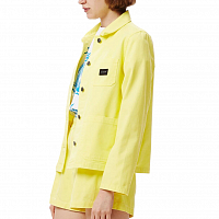 OBEY SLACKER CHORE COAT LEMON