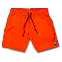 Volcom LIDO SOLID TRUNK 16 PEPPER RED