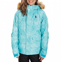 686 GIRLS CEREMONY INSULATED JKT LAGOON BLUE WASH