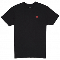 RVCA WICKS SS BLACK
