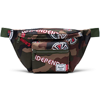 Herschel INDEPENDENT SEVENTEEN WOODLAND CAMO MULTI INDEPENDENT LOGO/CYPRESS