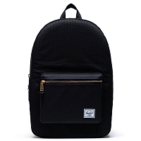 Herschel Settlement DARK GRID/BLACK
