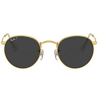 Ray Ban Round Metal #N/D/BLACK