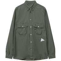 AND WANDER DRY LINEN SHIRT (M) KHAKI