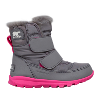 Sorel CHILDRENS WHITNEY VELCRO Quarry, Ultra P