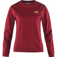 Fjallraven VARDAG SWEATER W RED OAK