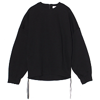 HYKE Crew Neck TOP BLACK