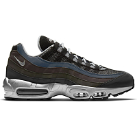 Nike AIR MAX 95 PRM BLACK/METALLIC SILVER-GAME ROYAL