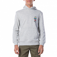 Rip Curl THE SEARCH HOODED FLEECE CEMENT MARLE