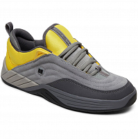 DC WILLIAMS SLIM M SHOE GREY/YELLOW