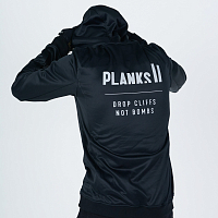Planks Park 'N Ride Riding Hoodie BLACK