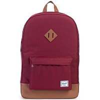 Herschel Heritage WINDSOR WINE/TAN SYNTHETIC LEATHER