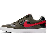 Nike SB DELTA FORCE VULC SEQUOIA/MYSTIC RED-BLACK-WHITE