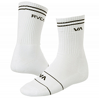 RVCA UNION SKATE SOCK White