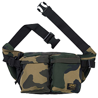 Carhartt WIP Military HIP BAG CAMO LAUREL / BLACK